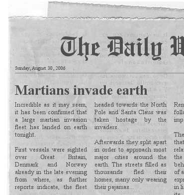 The newspaper clipping generator create your own fun newspaper newspaper pronofoot35fo Images
